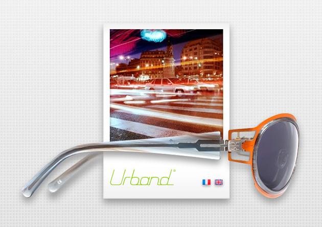 Création site flash marque lunettes