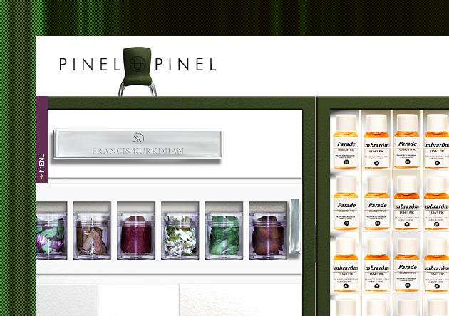 Création site web marque de luxe contemporain