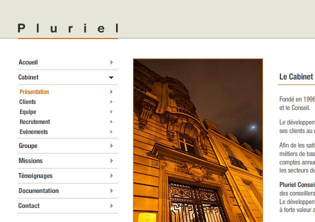 Réalisation site internet expertise-comptable