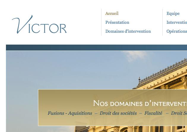 Création site internet professionnel Avocats