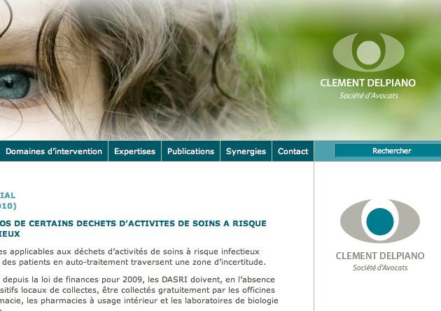 Création site dynamique cabinet Avocats