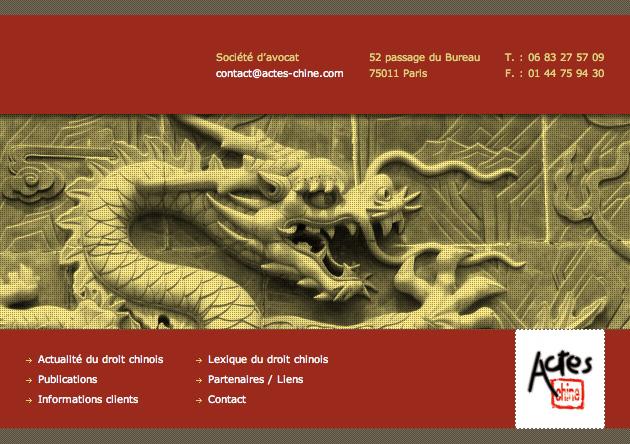 Création site cms Société d'avocats