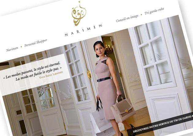 site web personal shopper Paris