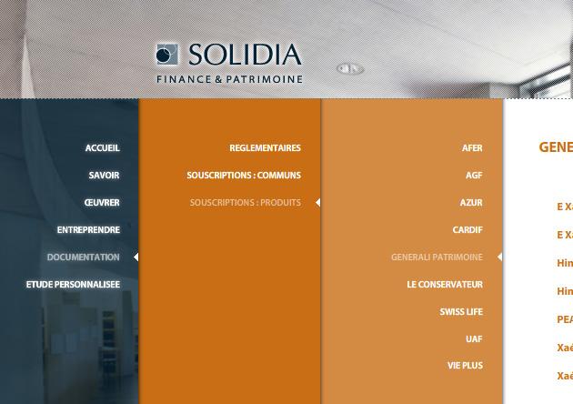 Design site internet gestion de patrimoine