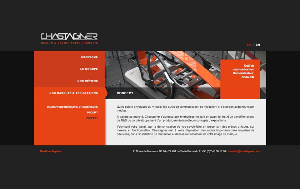 R alisation site internet design industriel for Architecture site web